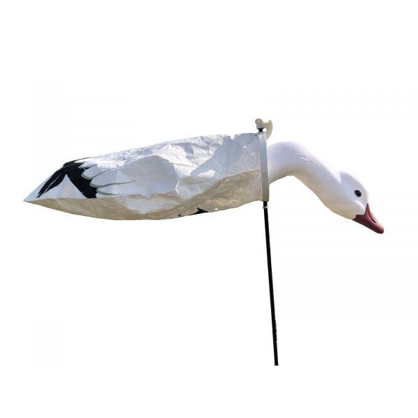 SkyFly Snow goose windsock decoys with feeding head