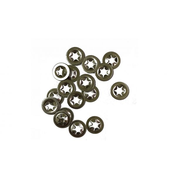 steel push nuts for windsock decoy stakes