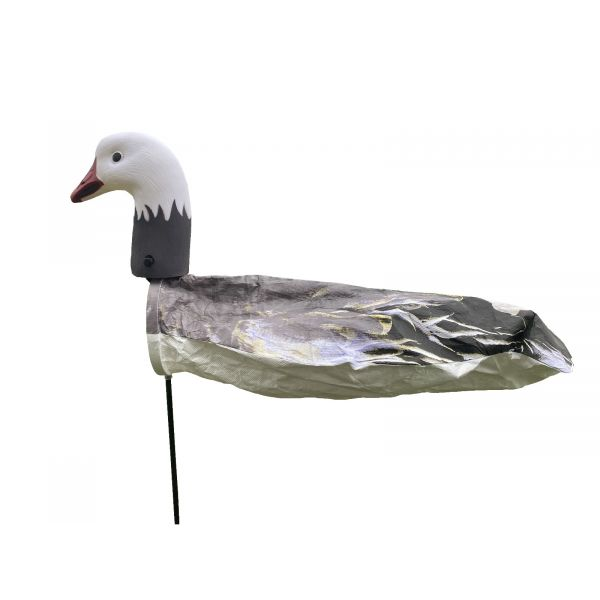 SkyFly Blue Goose Windsock Decoys with sentry head